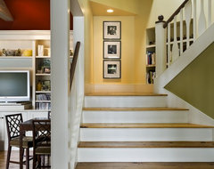 Lake House rustic-staircase