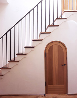 Ryan Associates - New Homes - Northern California Residence mediterranean staircase