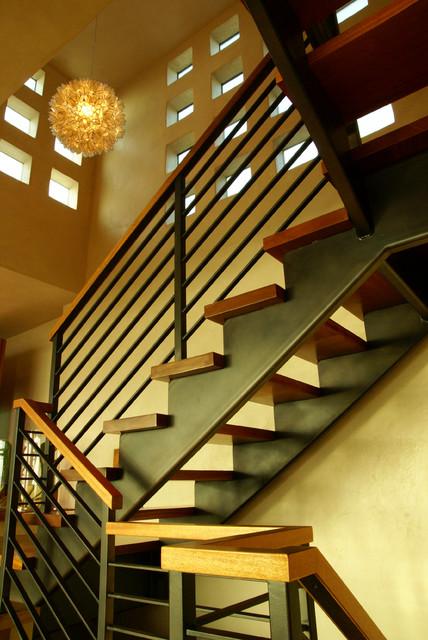 Sagamore House modern-staircase