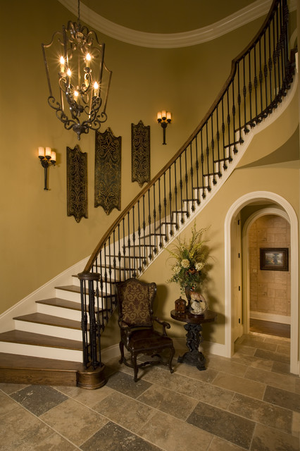 Sam Allen Custom Home design traditional-staircase