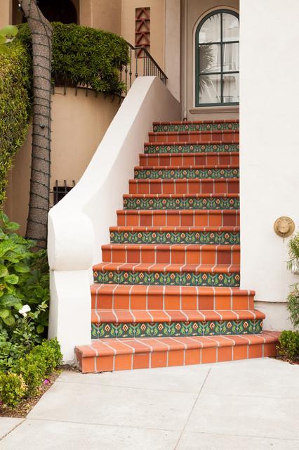 San francisco exterior staircase mediterranean for Stairs window design exterior