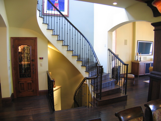 San Francisco Private Residence traditional-staircase