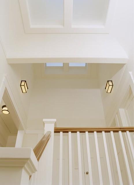 San Francisco Shingle Style traditional-staircase