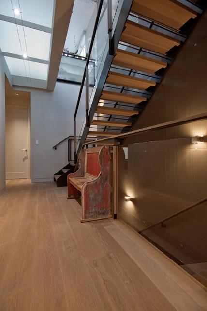 San Francisco Telegraph Hill contemporary-staircase