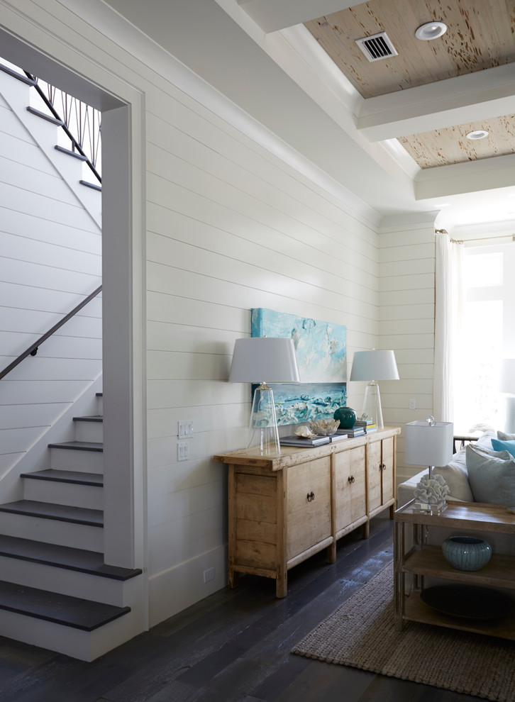 Inspiration for a coastal staircase remodel in Miami