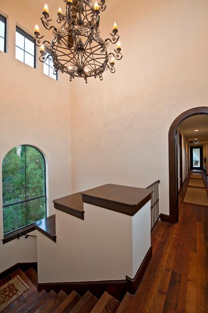 Santa Barbara Style in Austin mediterranean-staircase