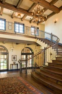 Santa Ynez Ranch Mediterranean Staircase Santa