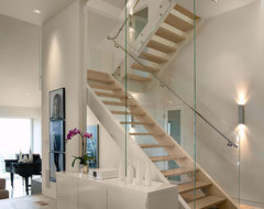 SantaTeresita contemporary staircase