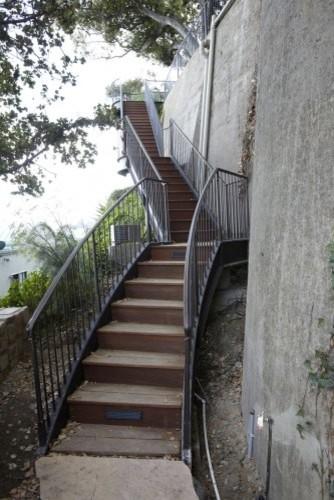 Sausalito Hillside Residence modern-staircase