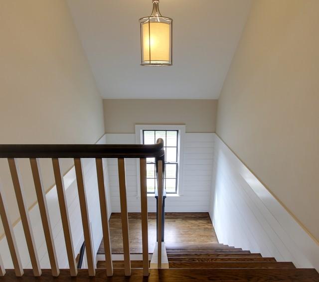 Saussy Burbank - Cambridge traditional-staircase