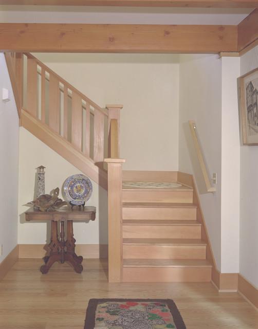 Schmitz Park contemporary-staircase