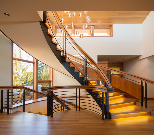 7 Ultra Modern Staircases: Scotch Pine Residence