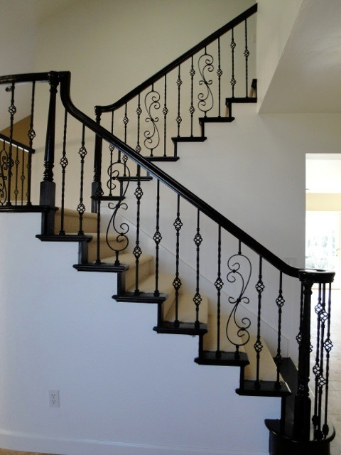 Scrolls U0026 Basket Twists Traditional Staircase