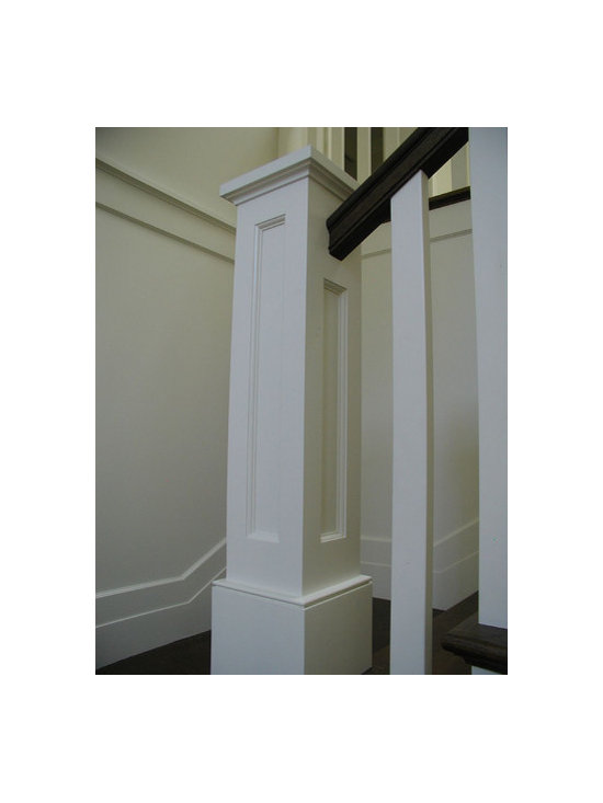 Newel post home design ideas pictures remodel and decor