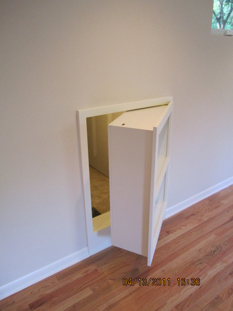 Secret Door - Contemporary - Staircase - austin - by Escarpment Construction LLC