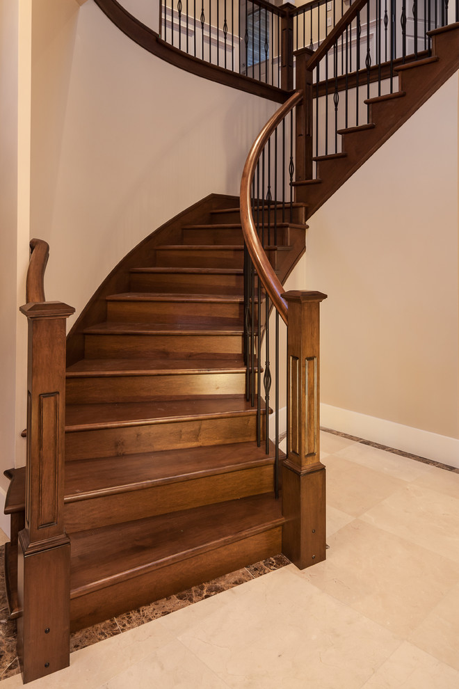 Inspiration for a timeless staircase remodel in Vancouver