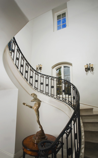 Shady Canyon traditional-staircase