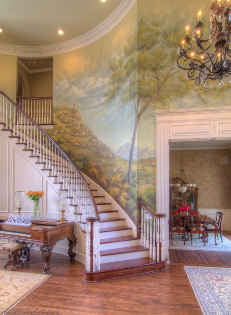 Sharon Flatley Other Rooms traditional-staircase
