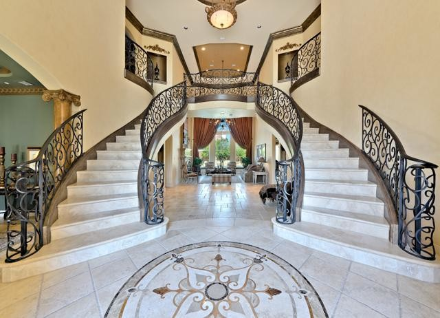 Shaw Residence Mediterranean Staircase Dallas By