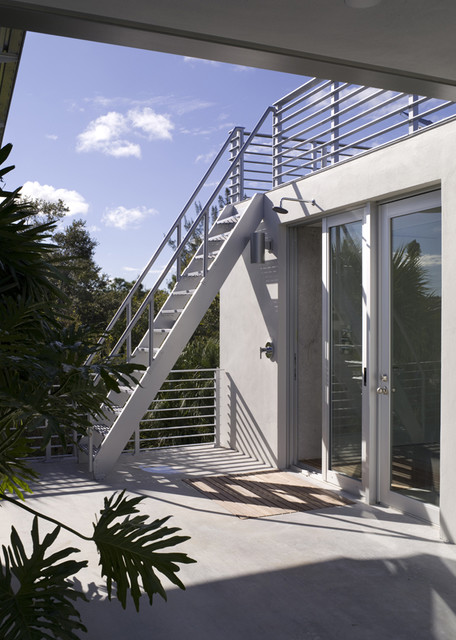 Ship Ladder To Roof Deck Modern Staircase