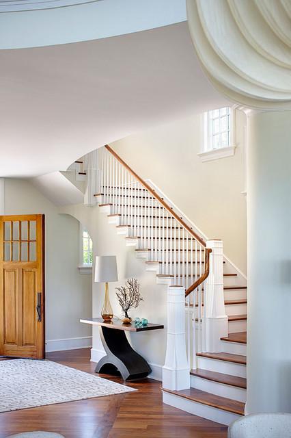 Shore Retreat modern-staircase