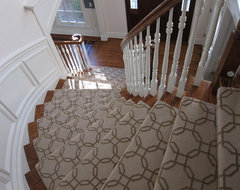 Short Hills Home: Traditional and Elegant Foyer traditional-staircase