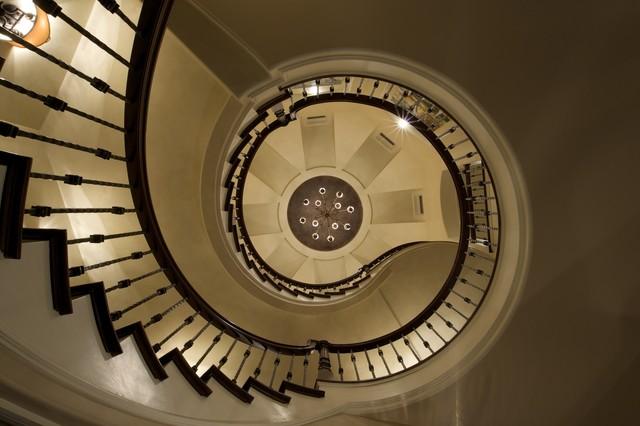 Showcase Home Mediterranean Staircase Omaha By