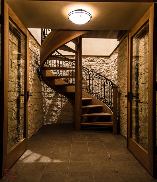 Showcase Projects Rustic Staircase
