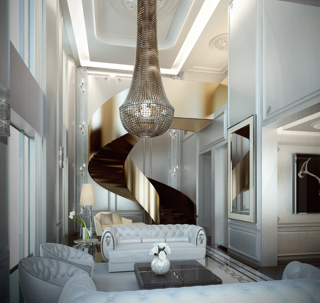Luxury Home Interior Staircase: Staircase