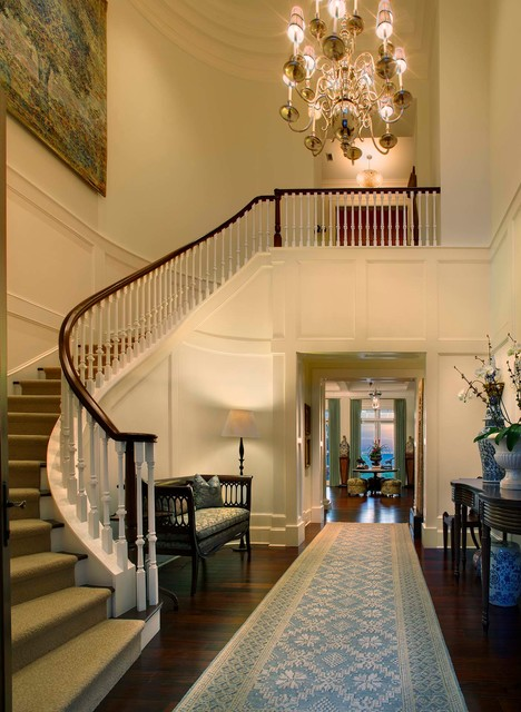 Siesta key georgian traditional staircase tampa by for Georgian staircase design