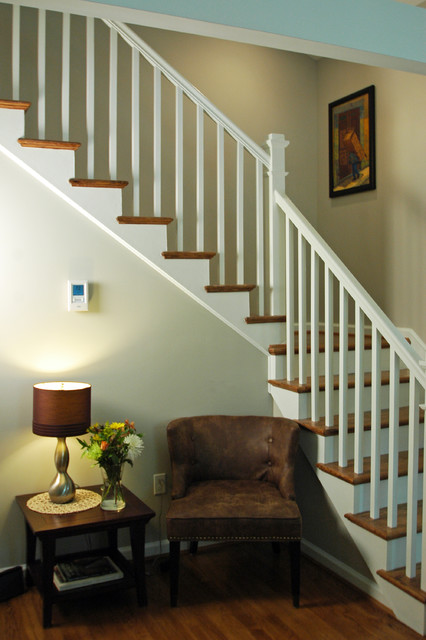 Silver Spring Addition traditional-staircase