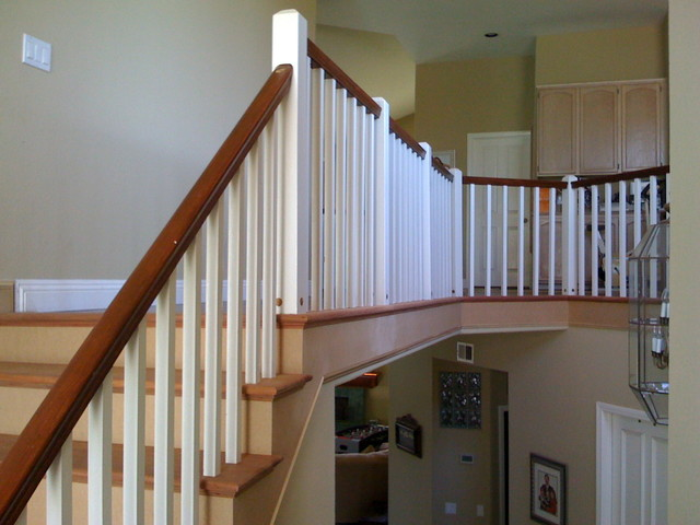 Simple Craftsman Style Staircase Craftsman Staircase