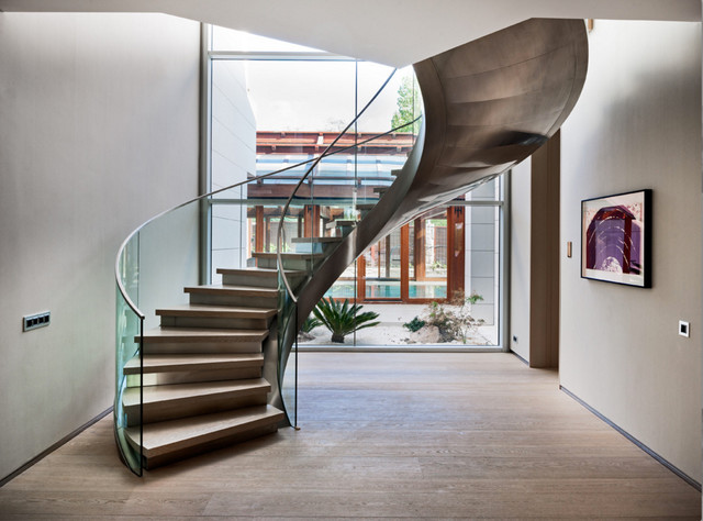 Single Family House contemporary-staircase