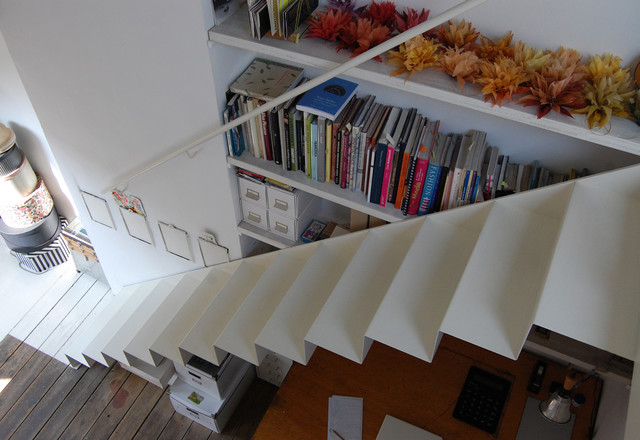 SIX JETONS contemporary-staircase