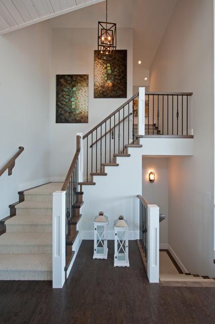 Skylands Show Home contemporary-staircase