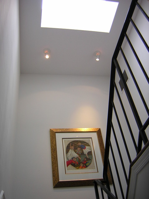 Skylights We Have Known traditional-staircase