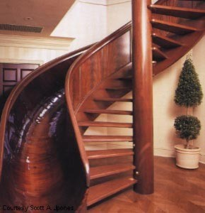 Slide or Stairs? modern-staircase