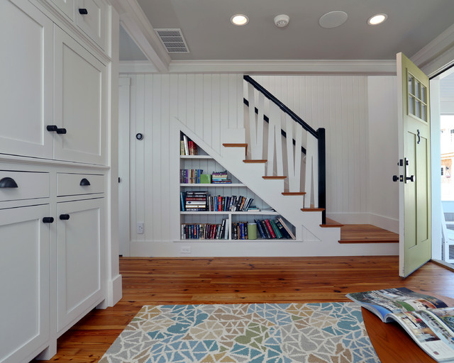Small Beach House Lives Big Beach Style Staircase