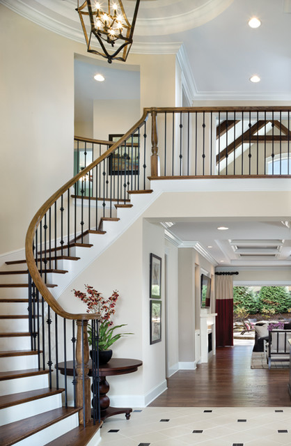 Somerset 1239 Traditional Staircase Tampa by  : traditional staircase from www.houzz.com size 418 x 640 jpeg 85kB