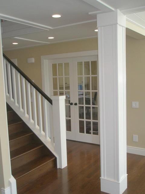 Sophisticated Farm House farmhouse-staircase