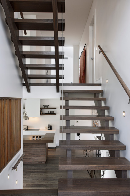 South coogee house contemporary staircase sydney for Split level home designs sydney