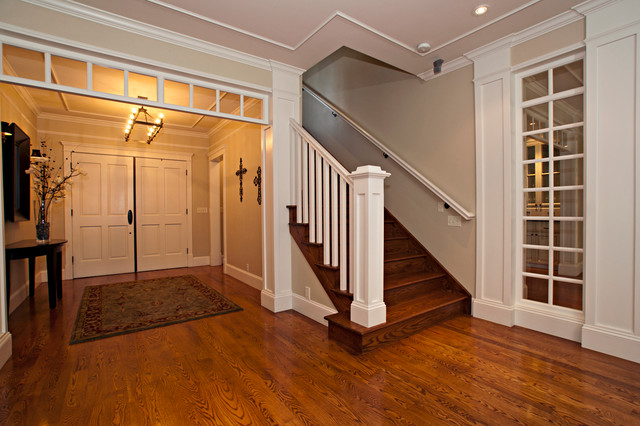 South Hill Traditional traditional-staircase