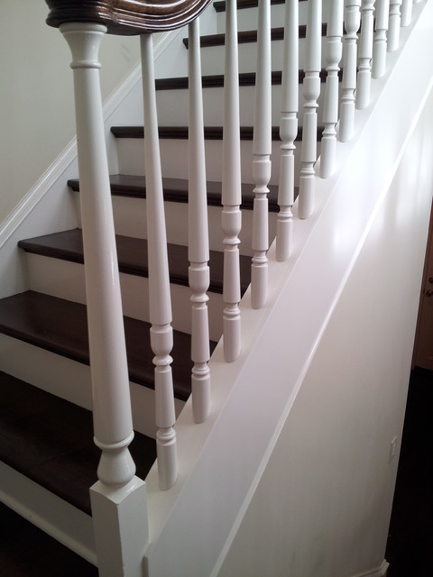 Southern Staircase Inc. Manufactured & Installed PICTURES of the MONTH traditional-staircase
