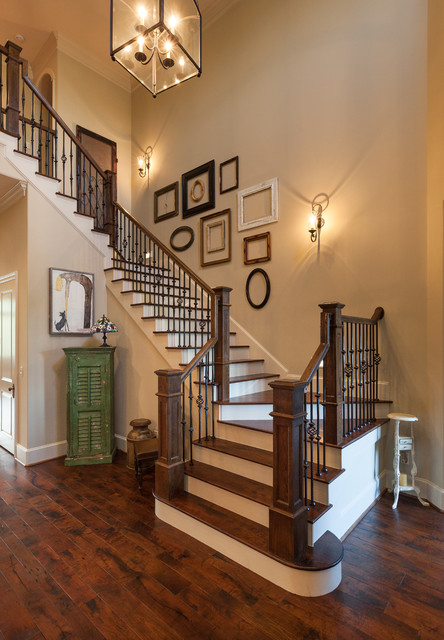 38 Pine Brook Traditional Staircase Houston By