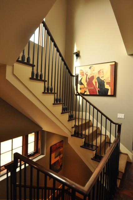 Mediterranean Staircase Tower : Spanish revival character mediterranean staircase