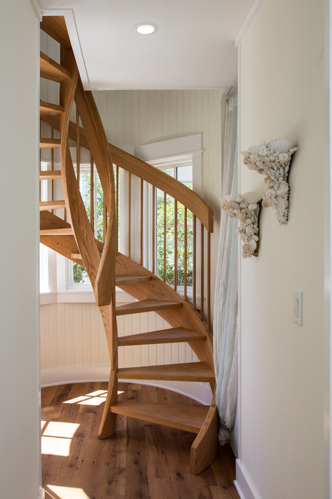 Spiral Stair Traditional Staircase Birmingham By Cfh Design Studio