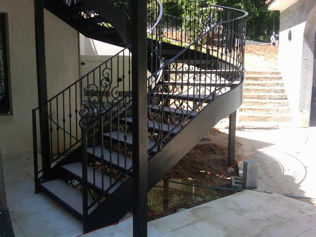 Charming Spiral Staircase / Metal Stairs Contemporary Staircase