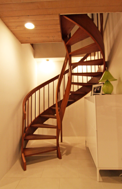 Spiral Staircase Contemporary Staircase San Diego By Flea Market Sunday