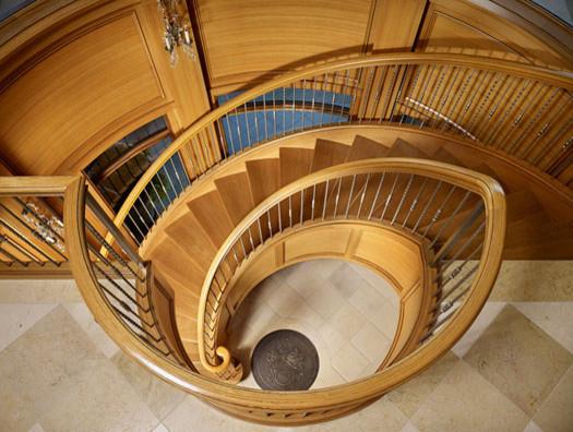 Spiral Staircase mediterranean-staircase