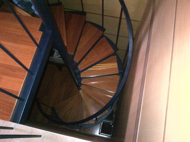 Spiral Stairs modern-staircase